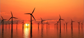 offshore-wind-farm-in-sunset