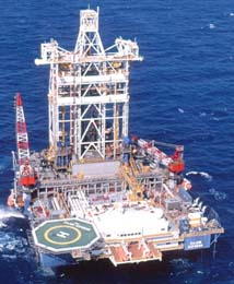 Sedco forex deep sea drilling programme